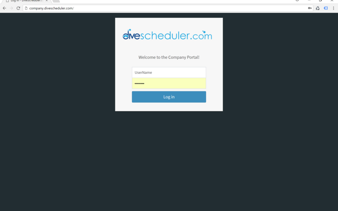 Dive Scheduler: How to Cancel a Charter